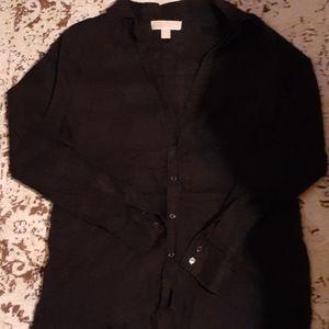 Nwot Linen Shirt